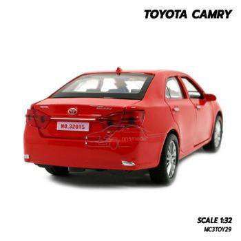 โมเดลรถ Toyota Camry สีแดง (1:32) รถเหล็กประกอบสำเร็จ