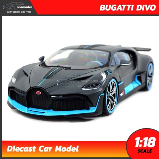 โมเดลรถ ซุปเปอร์คาร์ BUGATTI DIVO (Scale 1:18) โมเดลรถเหล็ก 1:18