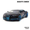 โมเดลรถ BUGATTI CHIRON สีดำฟ้า (1:32)