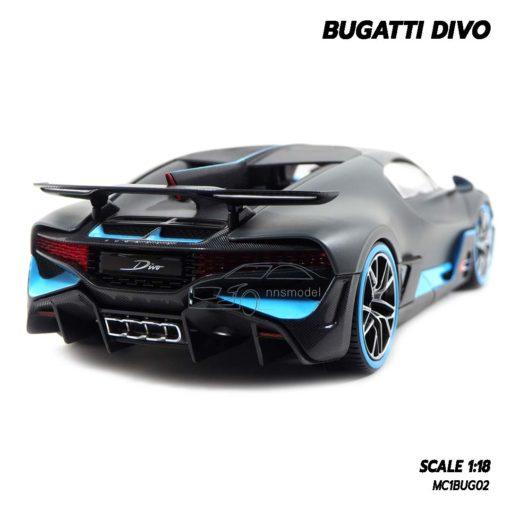 โมเดลรถ BUGATTI DIVO (1:18) โมเดลรถสปอร์ต จำลองเหมือนจริง