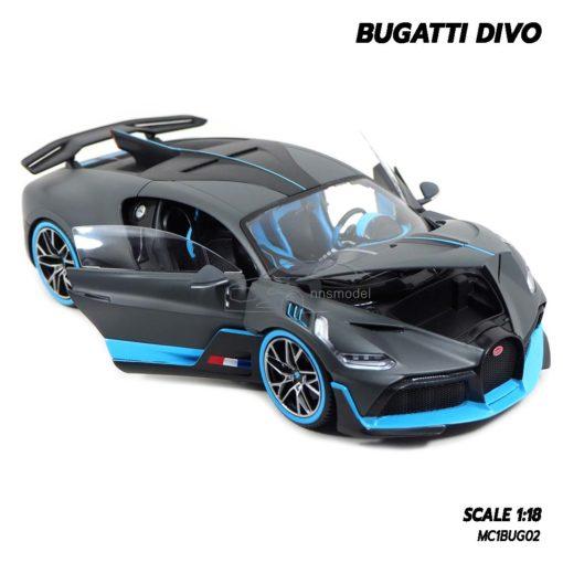 โมเดลรถ BUGATTI DIVO (1:18) โมเดลรถซุปเปอร์คาร์ จำลองเหมือนจริง