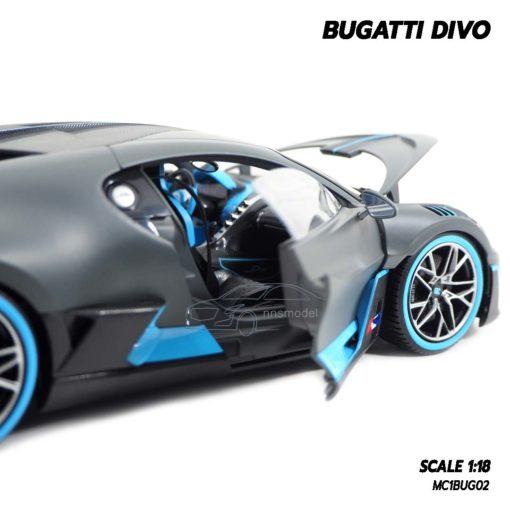โมเดลรถ BUGATTI DIVO (1:18) โมเดลรถซุปเปอร์คาร์ ภายในรถเหมือนจริง