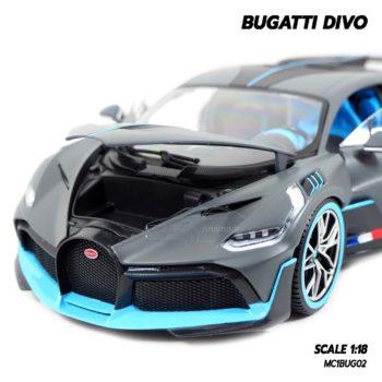 โมเดลรถ BUGATTI DIVO (1:18) โมเดลรถซุปเปอร์คาร์ เปิดฝากระโปรงหน้ารถได้