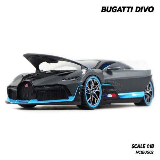 โมเดลรถ BUGATTI DIVO (1:18) โมเดลรถซุปเปอร์คาร์ สไตล์เท่ห์ น่าสะสม
