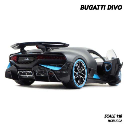 โมเดลรถ BUGATTI DIVO (1:18) โมเดลรถซุปเปอร์คาร์ ไฟท้ายสวยๆ