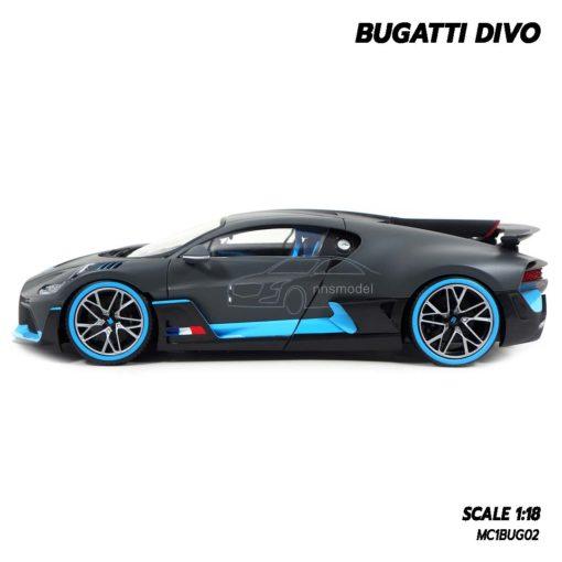 โมเดลรถ BUGATTI DIVO (1:18) โมเดลรถซุปเปอร์คาร์ รุ่นที่น่าสะสม