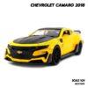 โมเดลรถ CHEVROLET CAMARO 2018 สีเหลืองดำ (1:24)