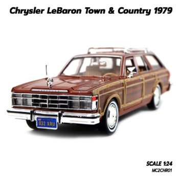 โมเดลรถ CHRYSLER LEBARON TOWN COUNTRY 1979 (1:24)