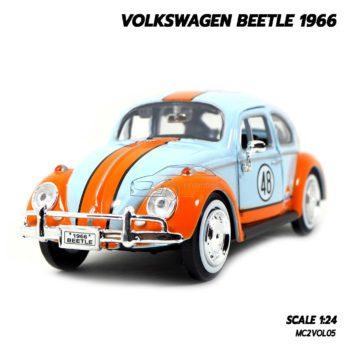 โมเดลรถ VOLKSWAGEN BEETLE 1966 No.48 (1:24)