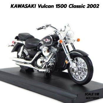 โมเดลมอเตอร์ไซด์ KAWASAKI Vulcan 1500 Classic 2002 (1:18) โมเดลรถสมจริง