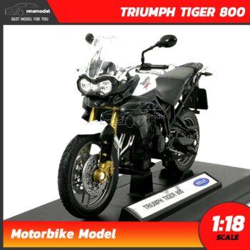 โมเดลมอเตอร์ไซด์ TRIUMPH TIGER 800 (Scale 1:18)
