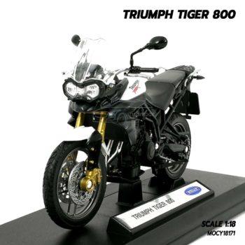 โมเดลมอเตอร์ไซด์ Triumph Tiger 800 (1:18)