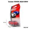 โมเดลรถ Toyota Hilux Revo Majorette สีแดง โมเดลรถเหล็ก พร้อมตั้งโชว์