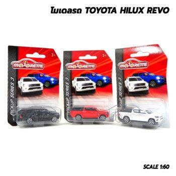 โมเดลรถกระบะ Toyota Hilux Revo Majorette โมเดลรถสะสม