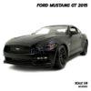 โมเดลฟอร์ดมัสแตง FORD MUSTANG GT 2015 สีดำด้าน (Scale 1:18)