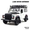 โมเดลรถ LAND ROVER DEFENDER สีขาว (Scale 1:24)
