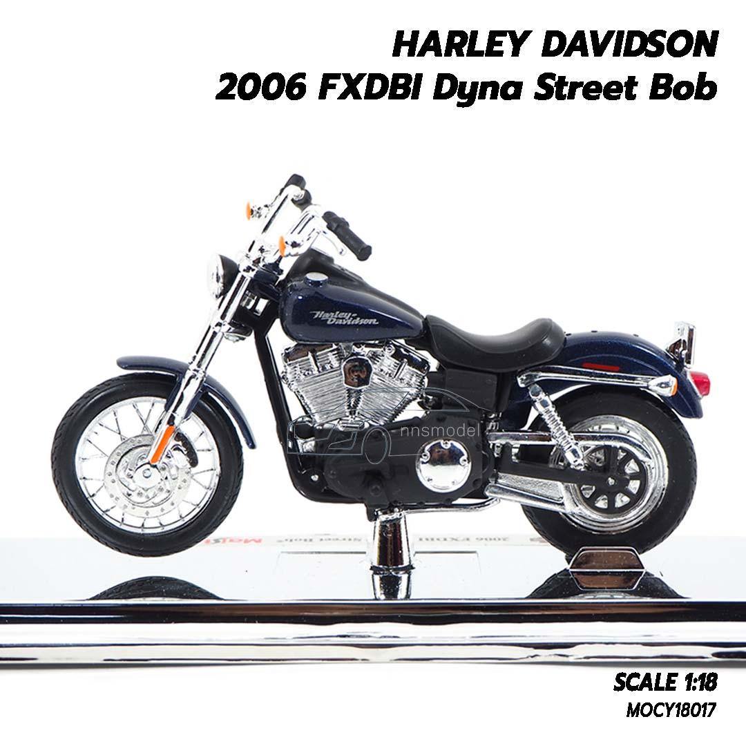 Black HARLEY /'02 Dyna 1:24 Diecast
