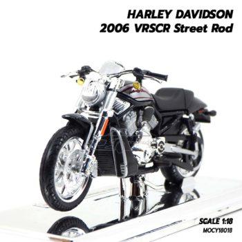 โมเดลฮาเล่ย์ HARLEY DAVIDSON 2006 VRSCR Street Rod (1:18)