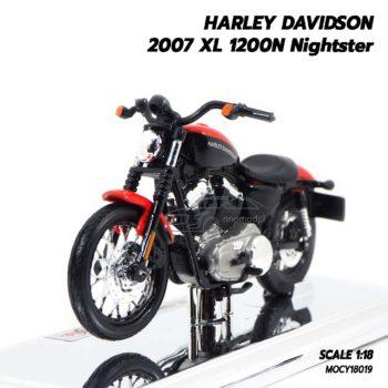 โมเดลฮาเล่ย์ HARLEY DAVIDSON 2007 XL 1200N Nightster (1:18)