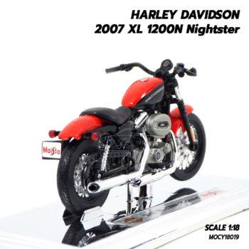 โมเดลฮาเล่ย์ HARLEY DAVIDSON 2007 XL 1200N Nightster (1:18) โมเดลประกอบสำเร็จ