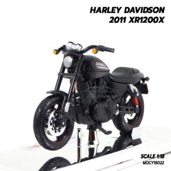 โมเดลฮาเล่ย์ HARLEY DAVIDSON 2011 XR1200X (1:18)
