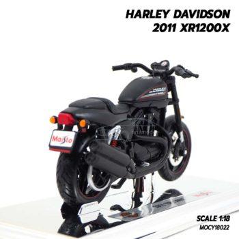โมเดลฮาเล่ย์ HARLEY DAVIDSON 2011 XR1200X (1:18) โมเดลจำลองเหมือนจริง