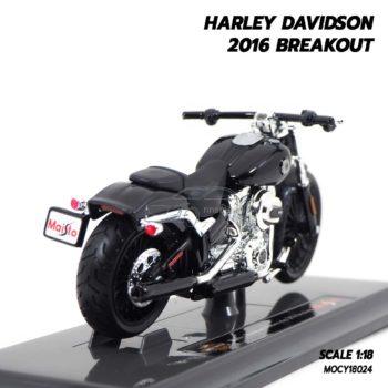 โมเดลฮาเล่ย์ HARLEY DAVIDSON 2016 BREAKOUT (1:18) โมเดลประกอบสำเร็จ