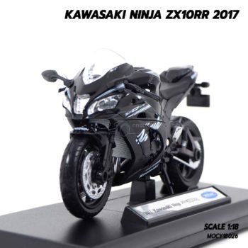 โมเดลบิ๊กไบค์ KAWASAKI NINJA ZX10RR 2017 (1:18)