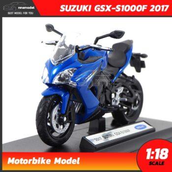 โมเดลบิ๊กไบค์ SUZUKI GSX-S1000F 2017 (Scale 1:18)