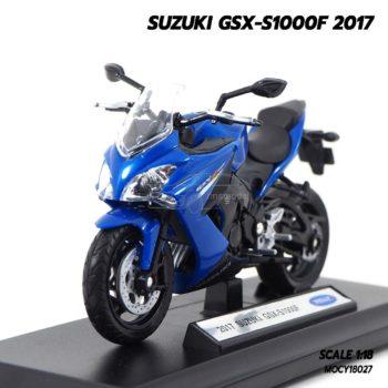 โมเดลรถบิ๊กไบค์ SUZUKI GSX-S1000F 2017 (1:18)