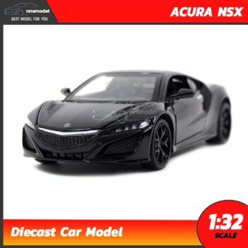 โมเดลรถเหล็ก ACURA NSX (Scale 1:32) สีดำ โมเดลรถมีเสียงมีไฟ