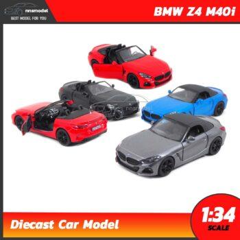 โมเดลรถเหล็ก BMW Z4 M40i (Scale 1:34)