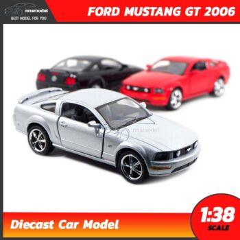 โมเดลรถเหล็ก FORD MUSTANG GT 2006 (Scale 1:38)