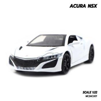 โมเดลรถ ACURA NSX สีขาว (1:32)