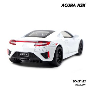 โมเดลรถ ACURA NSX สีขาว (1:32) โมเดลรถประกอบสำเร็จ