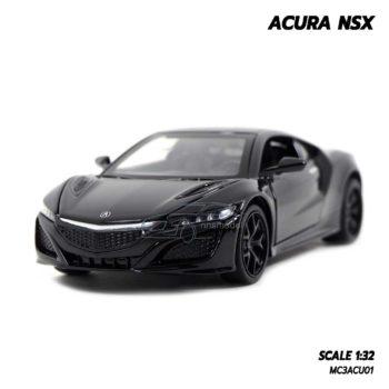 โมเดลรถ ACURA NSX (1:32) สีดำ โมเดลรถจำลองสมจริง