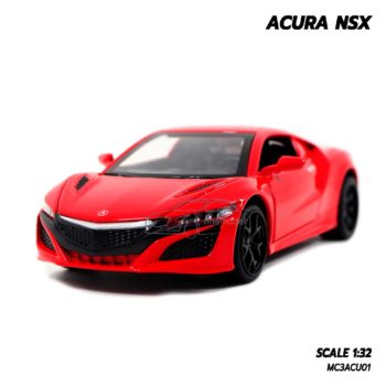 โมเดลรถ ACURA NSX สีแดง (1:32)