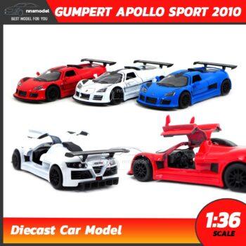 โมเดลรถ GUMPERT APOLLO SPORT 2010 (Scale 1:36)
