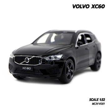 โมเดลรถ VOLVO XC60 สีดำ (1:32) สวยๆ
