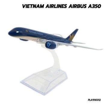 โมเดลเครื่องบิน VIETNAM AIRLINES AIRBUS A350 (16 cm) เครื่องบินโดยสารจำลอง