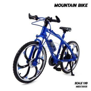 โมเดลจักรยาน เสือภูเขา MOUNTAIN BIKE น้ำเงิน