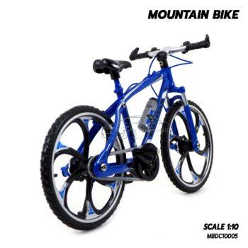 โมเดลจักรยาน เสือภูเขา MOUNTAIN BIKE น้ำเงิน (1:10) จักรยานจำลองเหมือนจริง