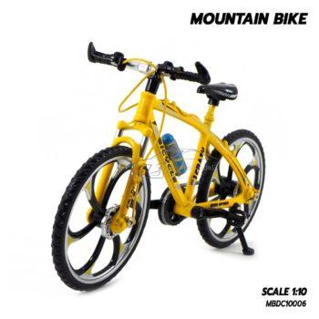 โมเดลจักรยาน เสือภูเขา MOUNTAIN BIKE สีเหลือง (1:10)