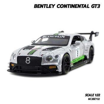 โมเดลรถ BENTLEY CONTINENTAL GT3 (1:32) โมเดลรถเหล็ก มีเสียงมีไฟ