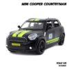 โมเดลรถ MINI COOPER COUNTRYMAN สีดำเขียว (1:32)