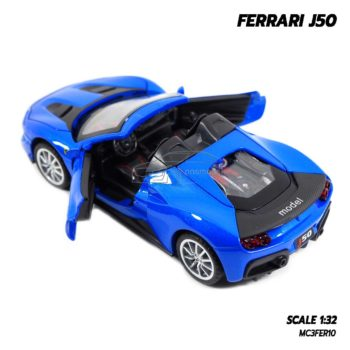 โมเดลรถ FERRARI J50 รุ่นเปิดประทุน สวยงาม