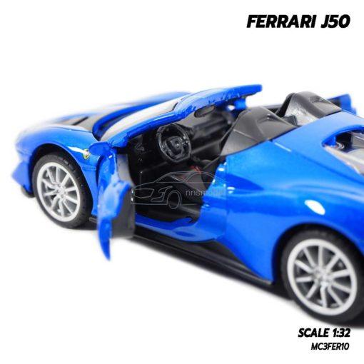 โมเดลรถ FERRARI J50 เครื่องยนต์เหมือนจริง