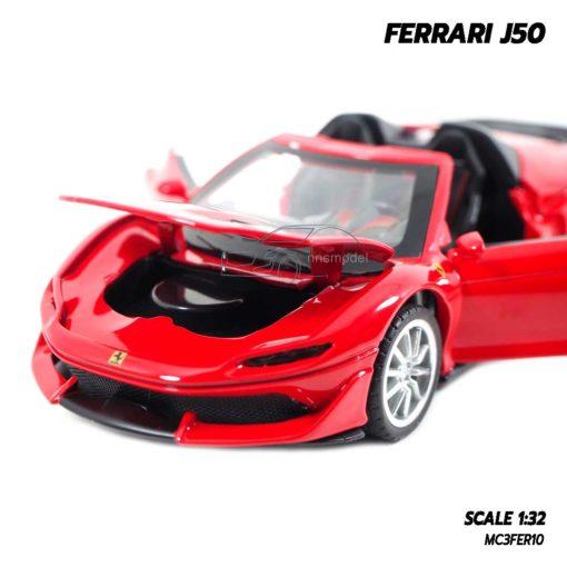 โมเดลรถ FERRARI J50 เปิดฝากระโปรงหน้าได้