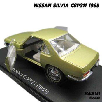 โมเดลรถคลาสสิค-NISSAN-SILVIA-CSP311-1965 โมเดลรถคลาสสิค เปิดประตูซ้ายขวาได้