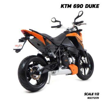 โมเดลมอเตอร์ไซด์ KTM 690 DUKE (Scale 1:12) โมเดลจำลองเหมือนจริง